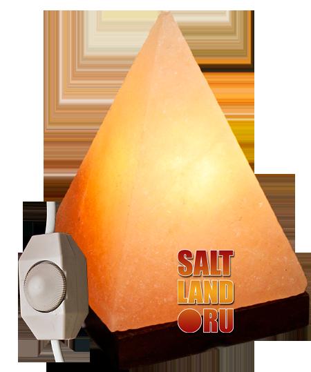 Солевая лампа Пирамида малая