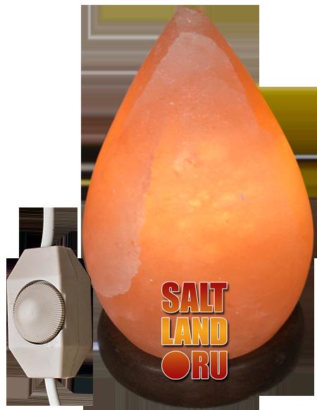 Солевая лампа Капля