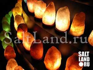Соляные, солевые лампы