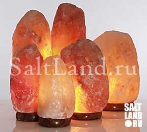 Солевая лампа из гималайской соли