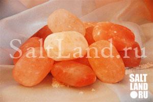 Соляное мыло из гималайской соли, солевые камни