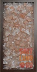 Соляная панель 230*500*25 Темное дерево