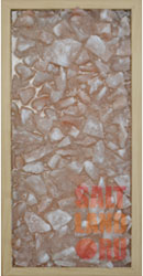 Соляная панель 230*500*25 Орех