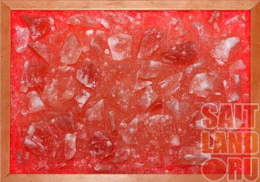 Соляная панель 400х300х25, светодиодная подсветка