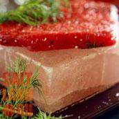 Мясо на соляной плитке