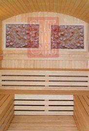 Применение соляных панелей в бане или сауне