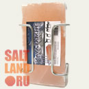 Соляной кирпич лизунец с держателем